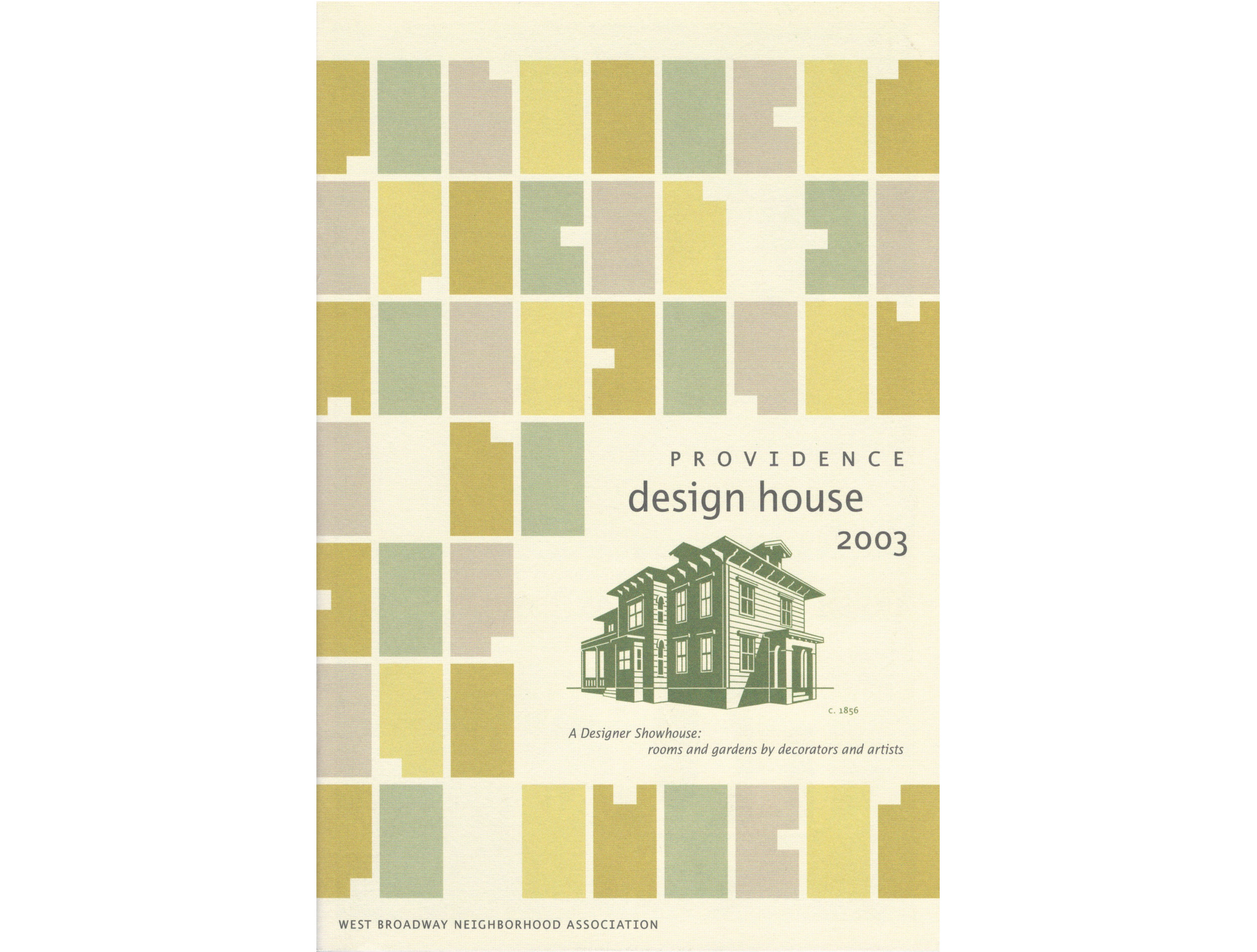 Program cover for  Providence Design House, 2003