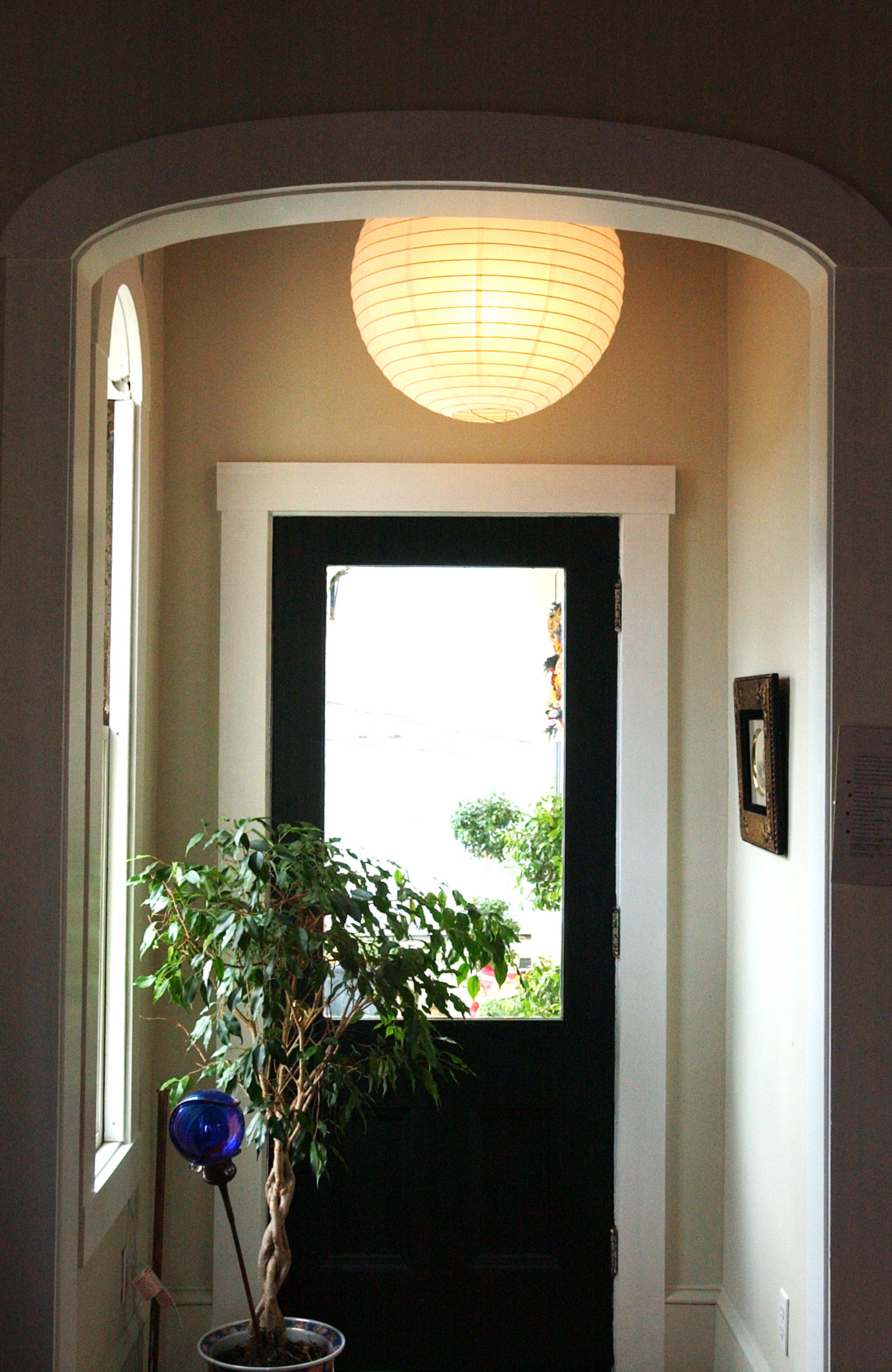Side porch entry by Lisa Newman Interiors