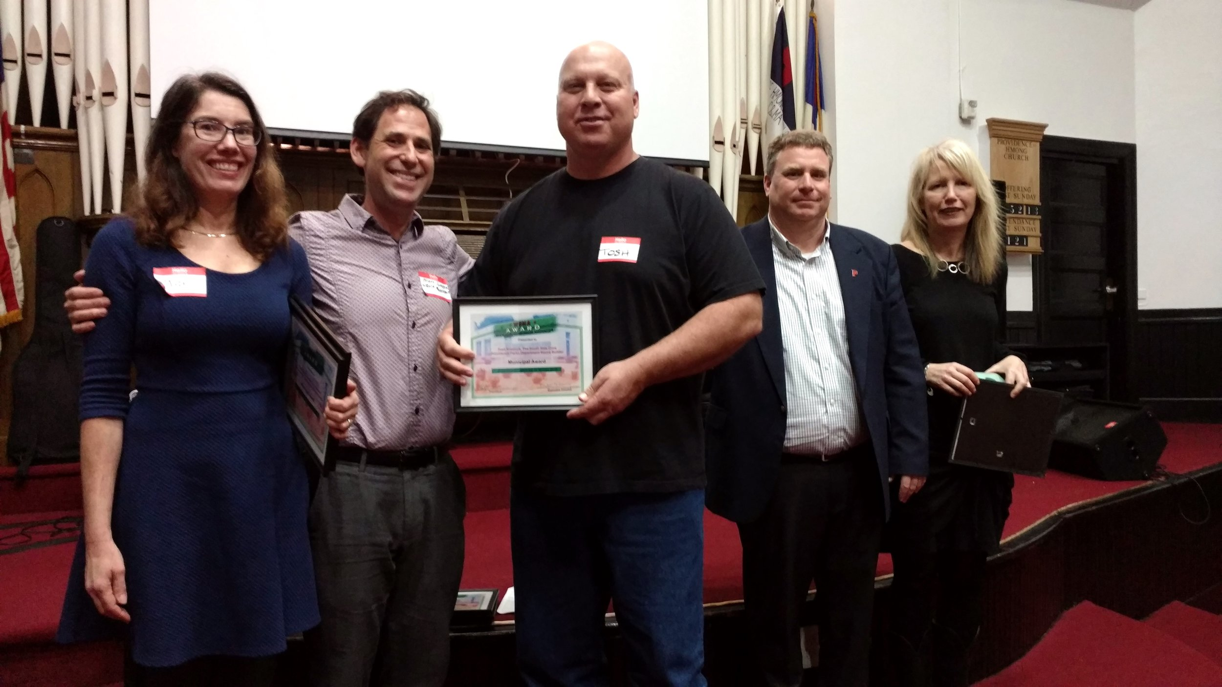 Municipal Award Winners: Bocce Builders of the Providence Parks Department