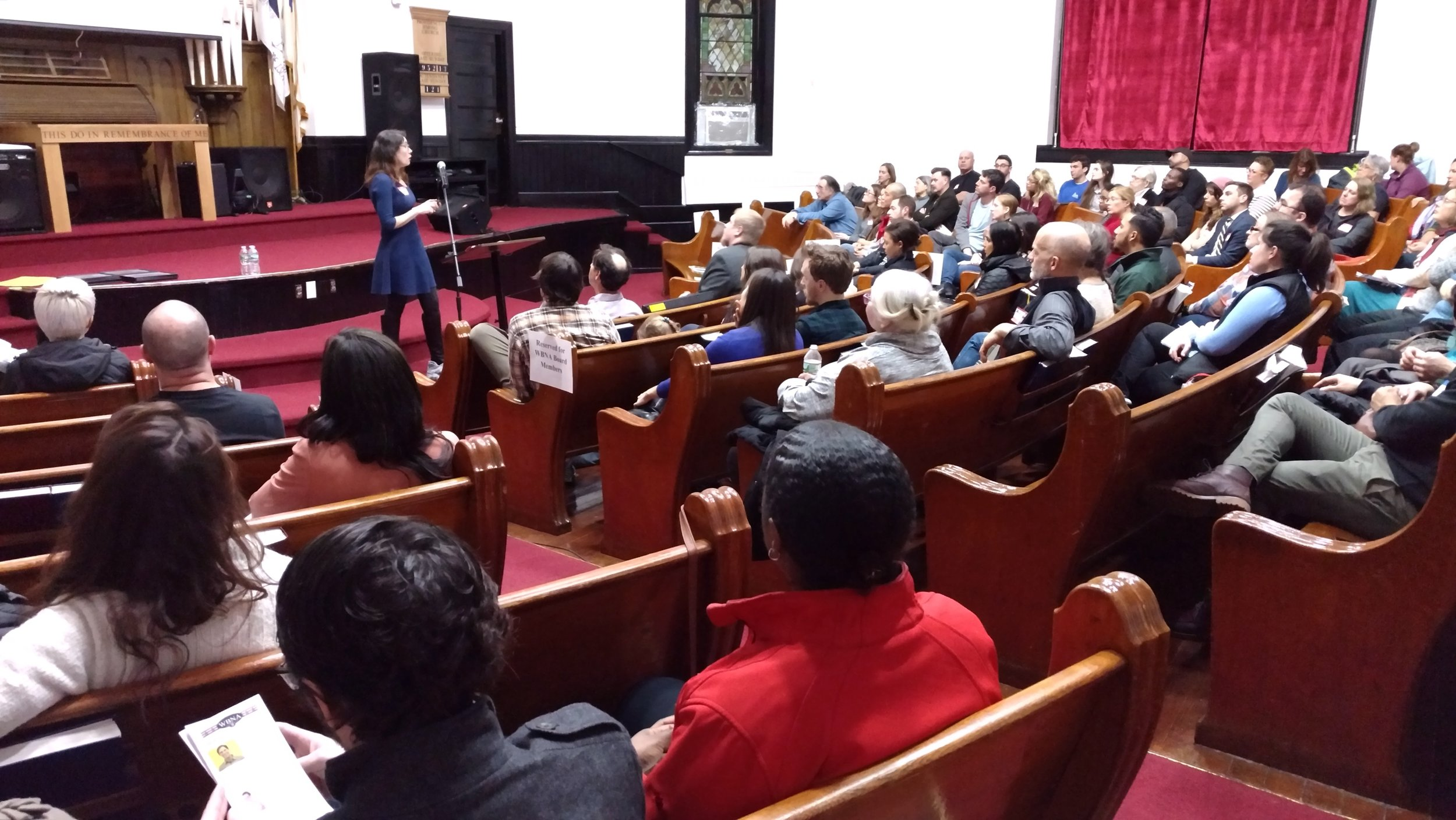 Over 200 neighbors came together for our 2018 Annual Meeting at the Providence Hmong Church