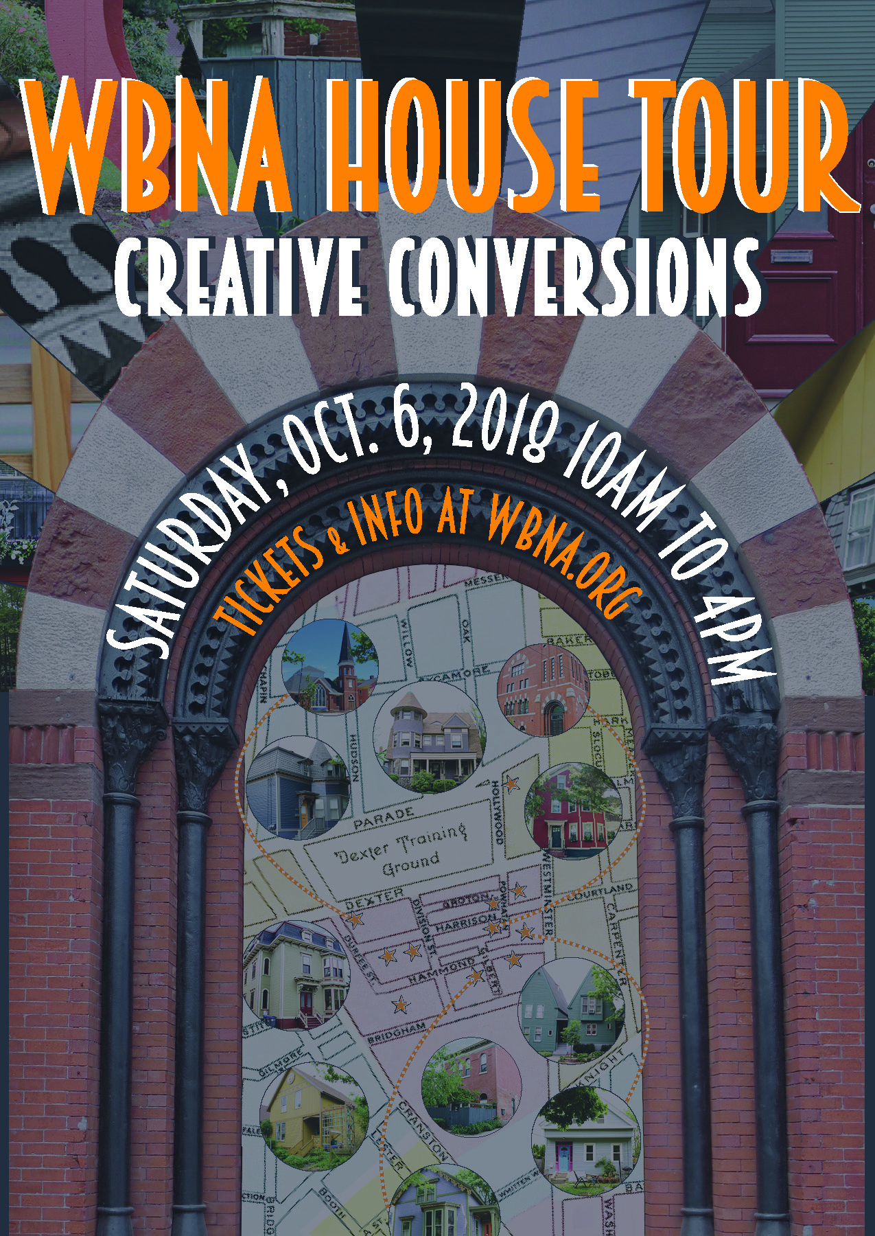Take the tour and explore the West Side at your own pace - With a map and select locations to stop, visitors and long-time Rhode Island residents can take the WBNA House Tour to see private homes, artist studios, and discover secret urban gardens that green the city-scape.