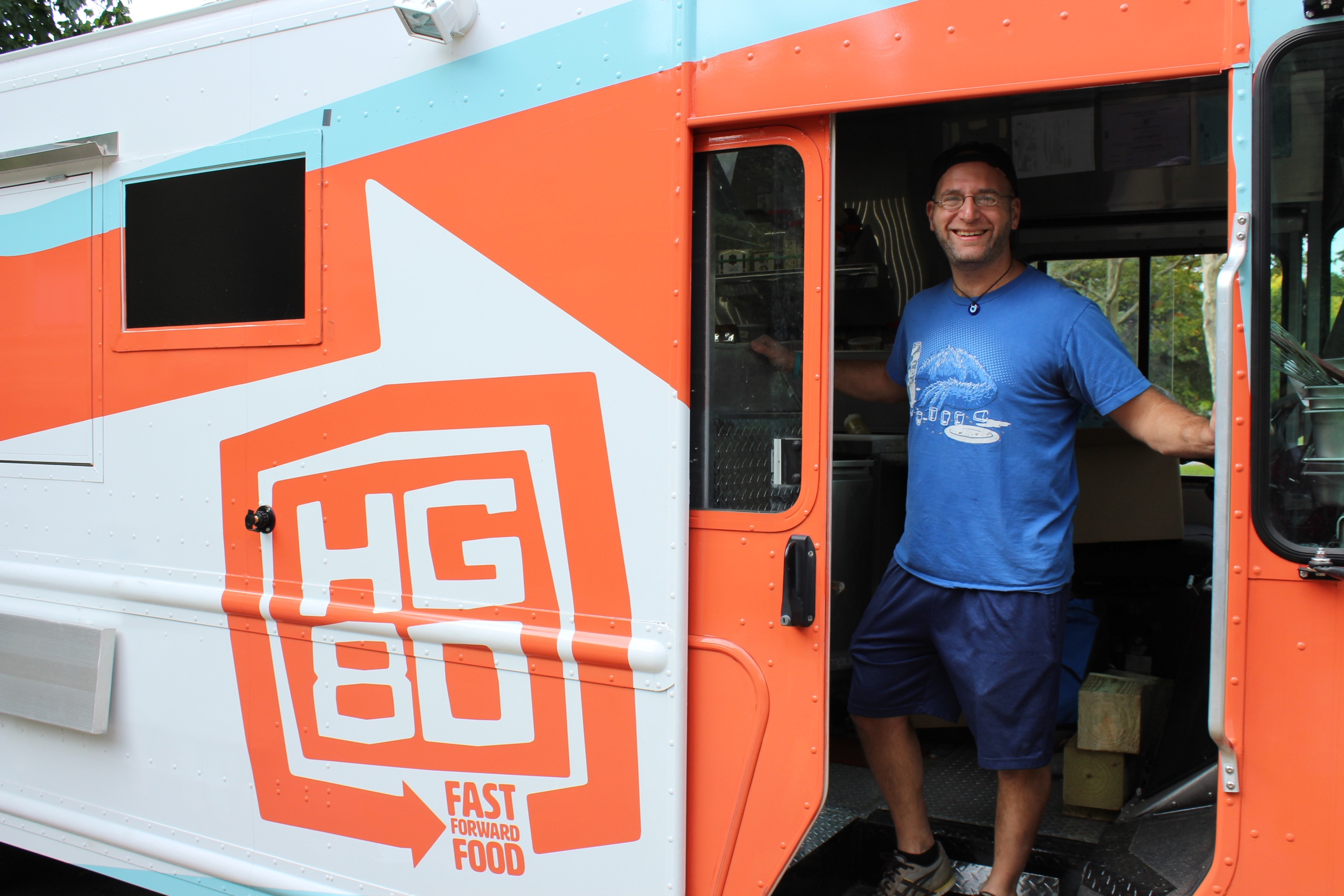 Providence's newest food truck, HG80, debuted at the House Tour Photo by Jessica Jennings