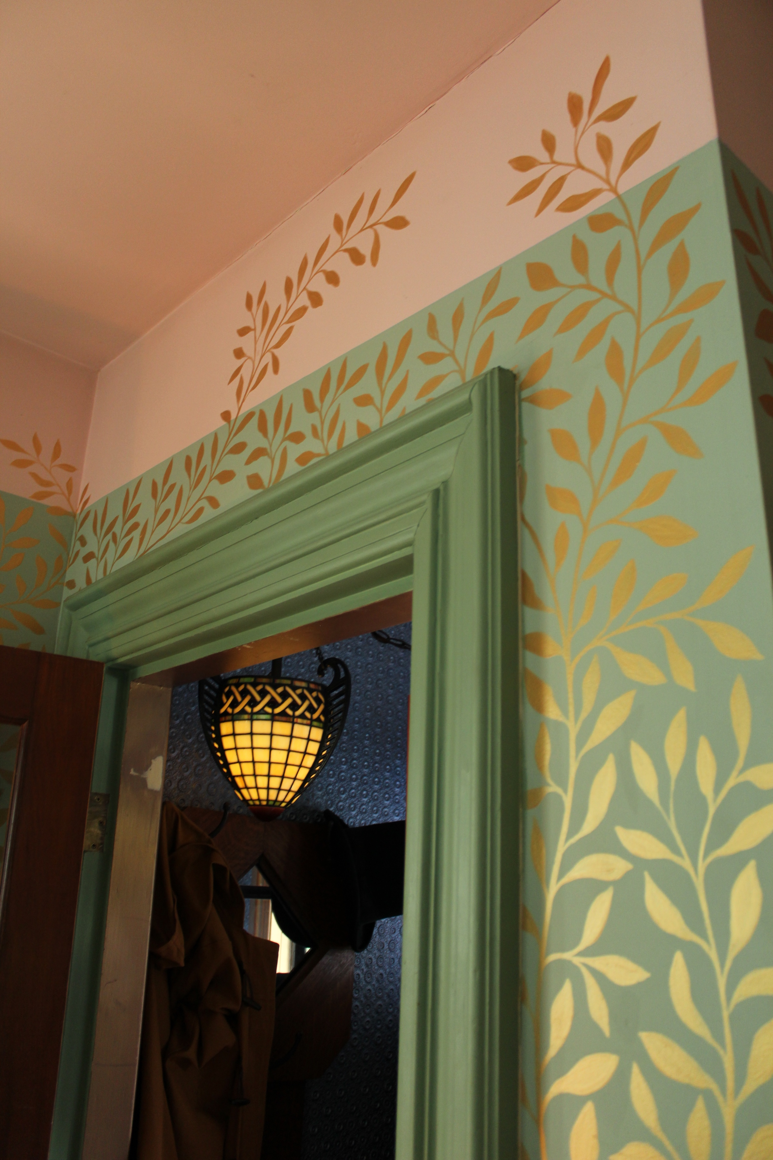 Hand-painted wall murals Photo by Jessica Jennings