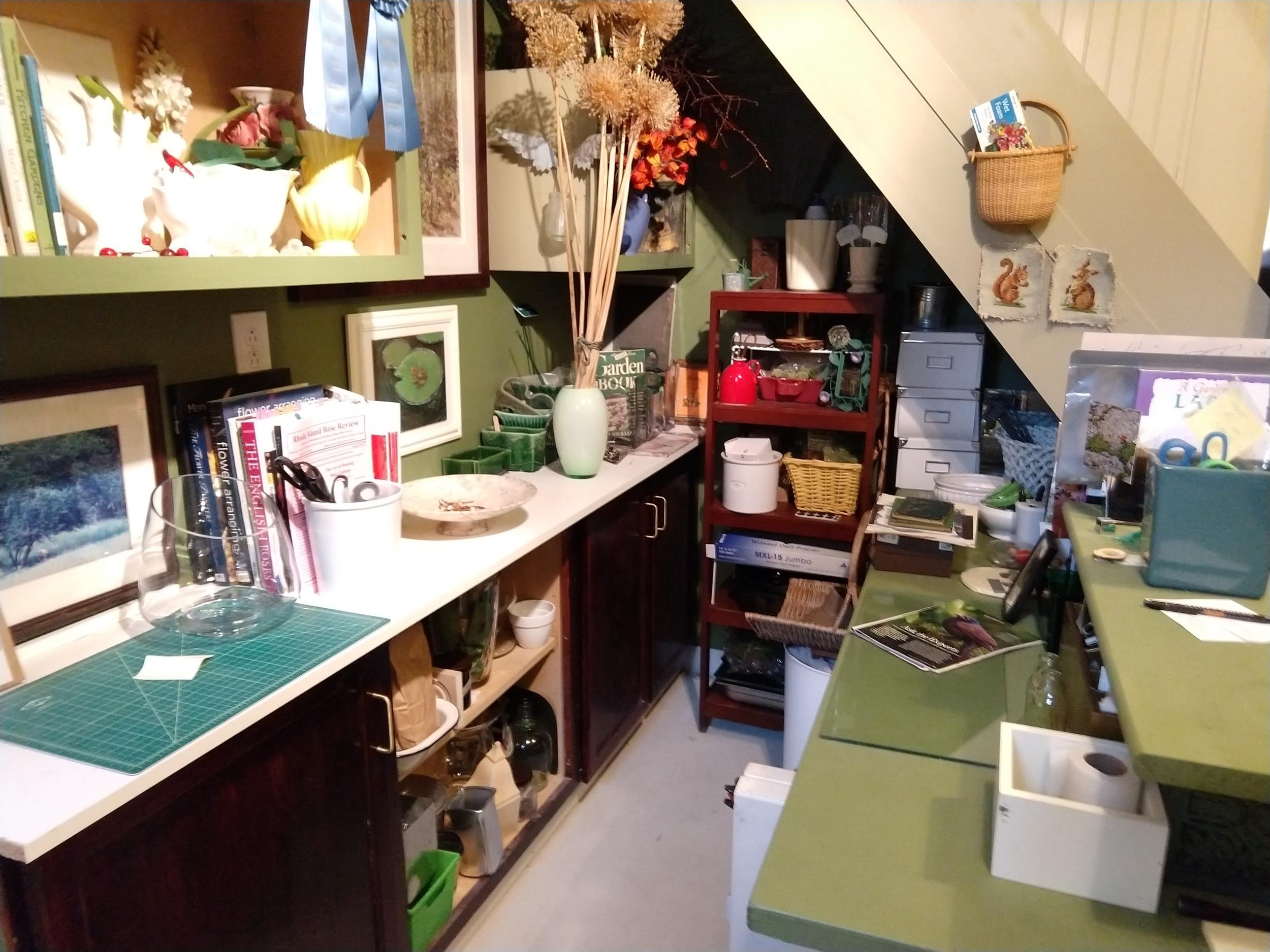 Basement gardening studio Photo by Jessica Jennings