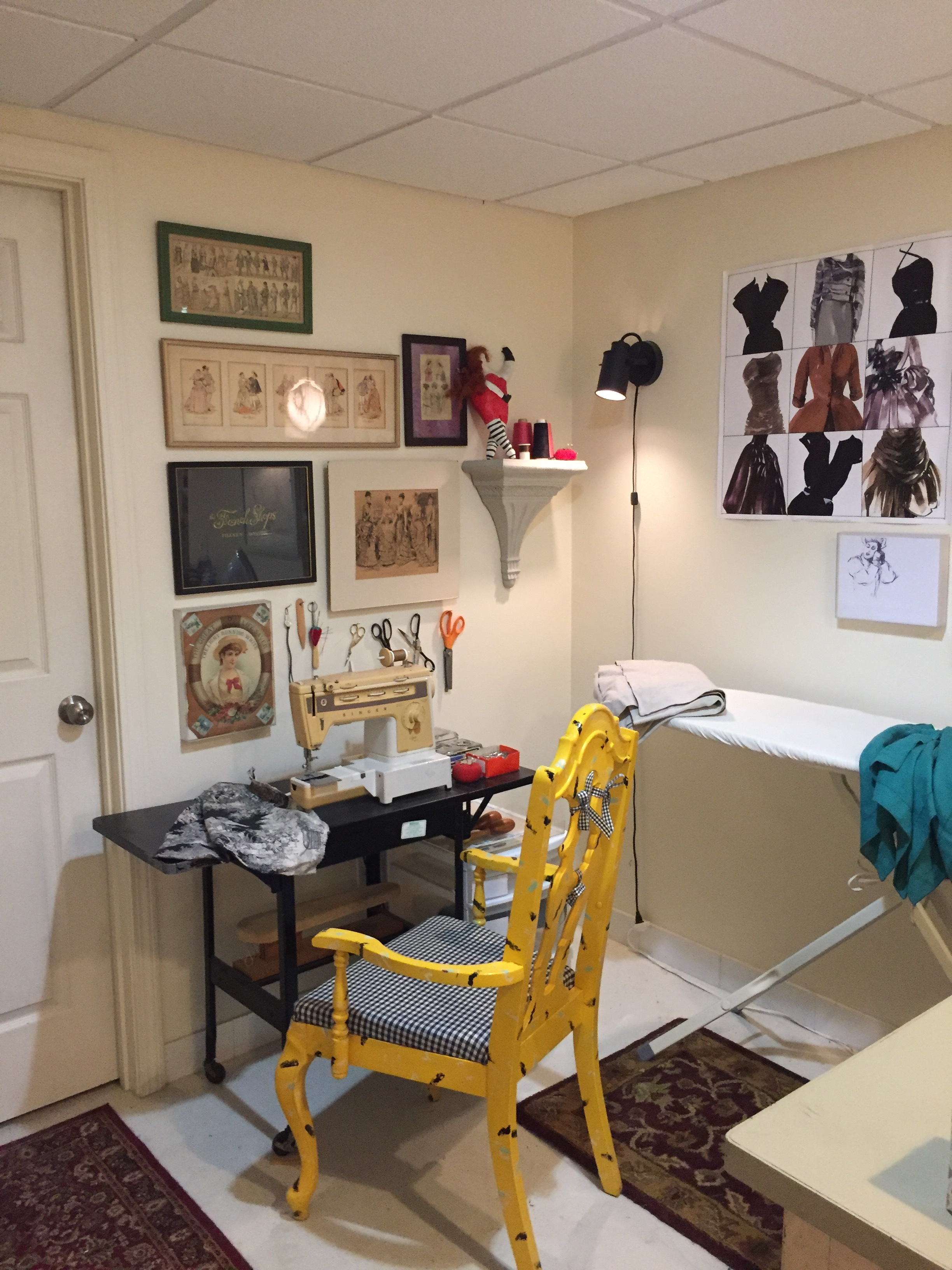 Sewing nook Photo by Barbra Revill
