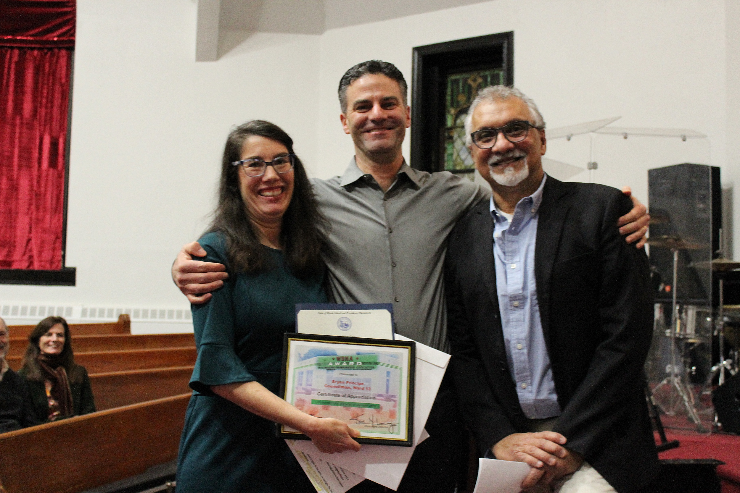 Certificate of Recognition Award: Councilman Bryan Principe