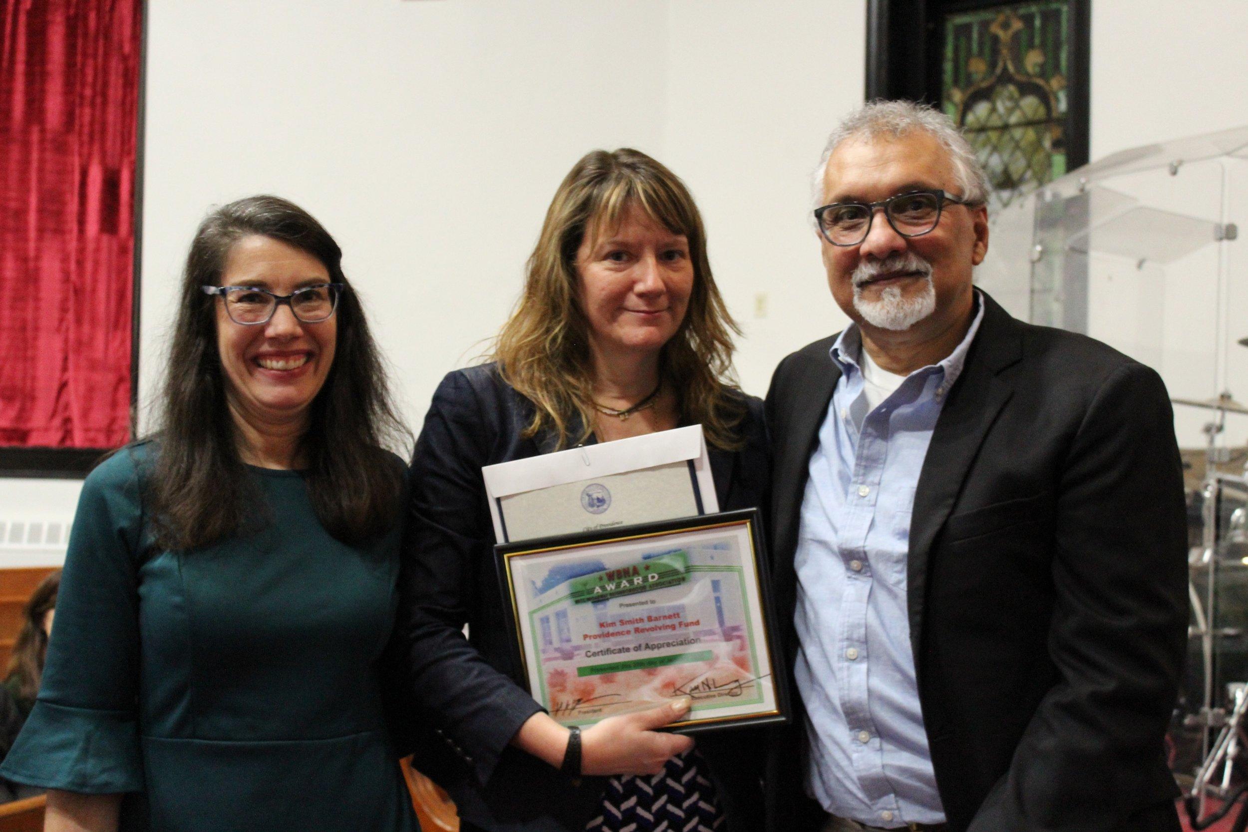 Certificate of Recognition Award: Kim Smith Barnett