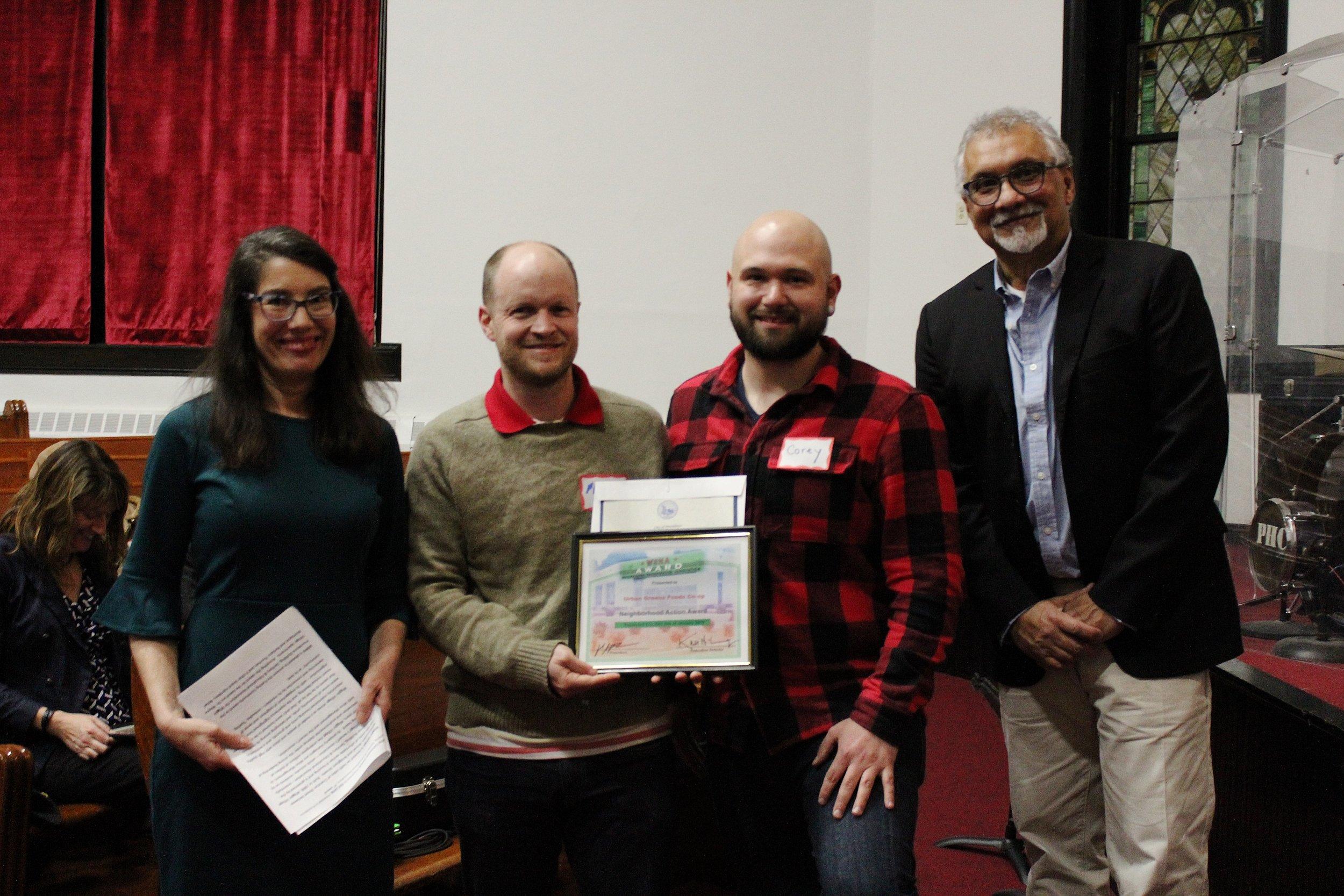 Neighborhood Action Award: Urban Greens Food Co-op