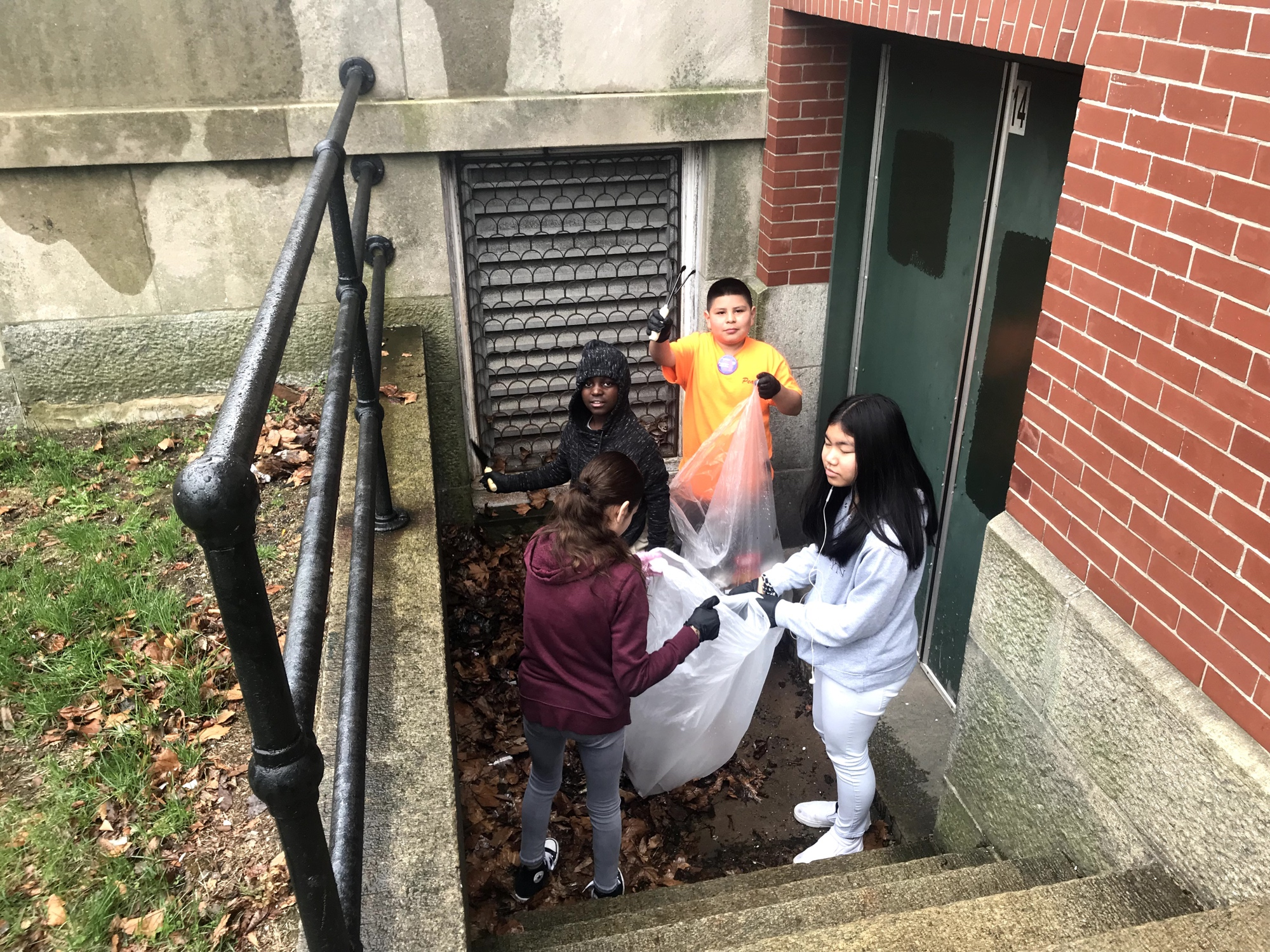 Earth Day Cleanup organized by the WBMS Student Council