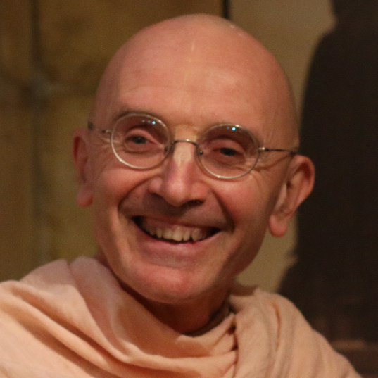 Shree Radha Raman:  As a long-time practicing monk, I've been regularly visiting India for the past 30 years. The big cities are crowded and traveling in India is always challenging. So as soon as I can, I head straight for either Vrindavan, Navadwip, or Puri, as these sites are both powerful and are of special significance for our tradition.