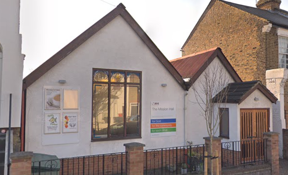 The Mission Hall - The Mission Hall is located on Cunnington Street W4 5ER and is suitable for meetings for up to 30 people and children's parties.