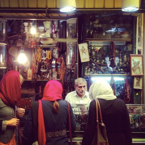 Tehran's Grand Bazaar (Holly Dagres)
