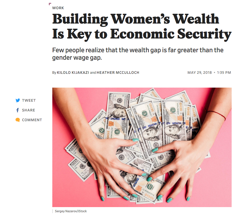 Read this recent article from Slate about the wealth gap.