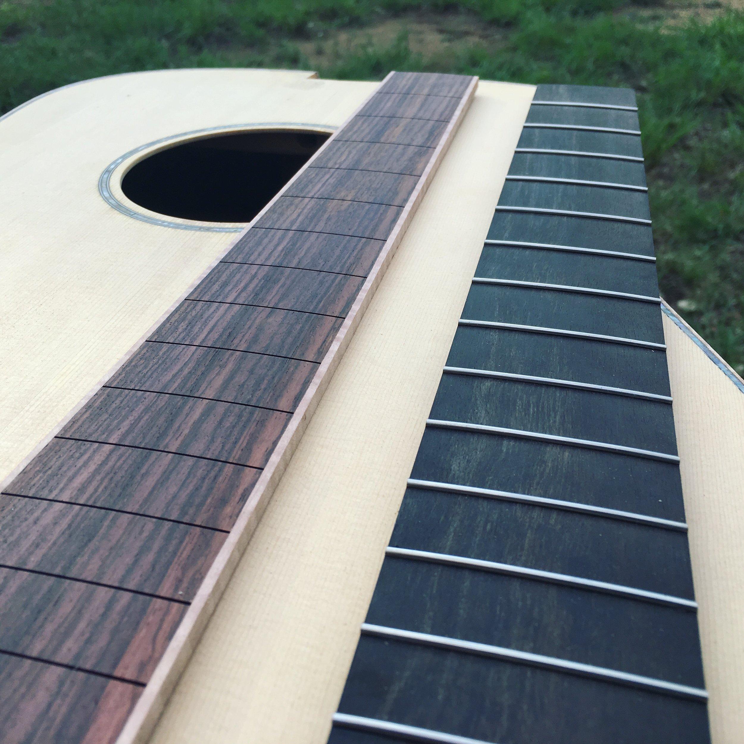 Edwards Dreadnought Acoustic Build