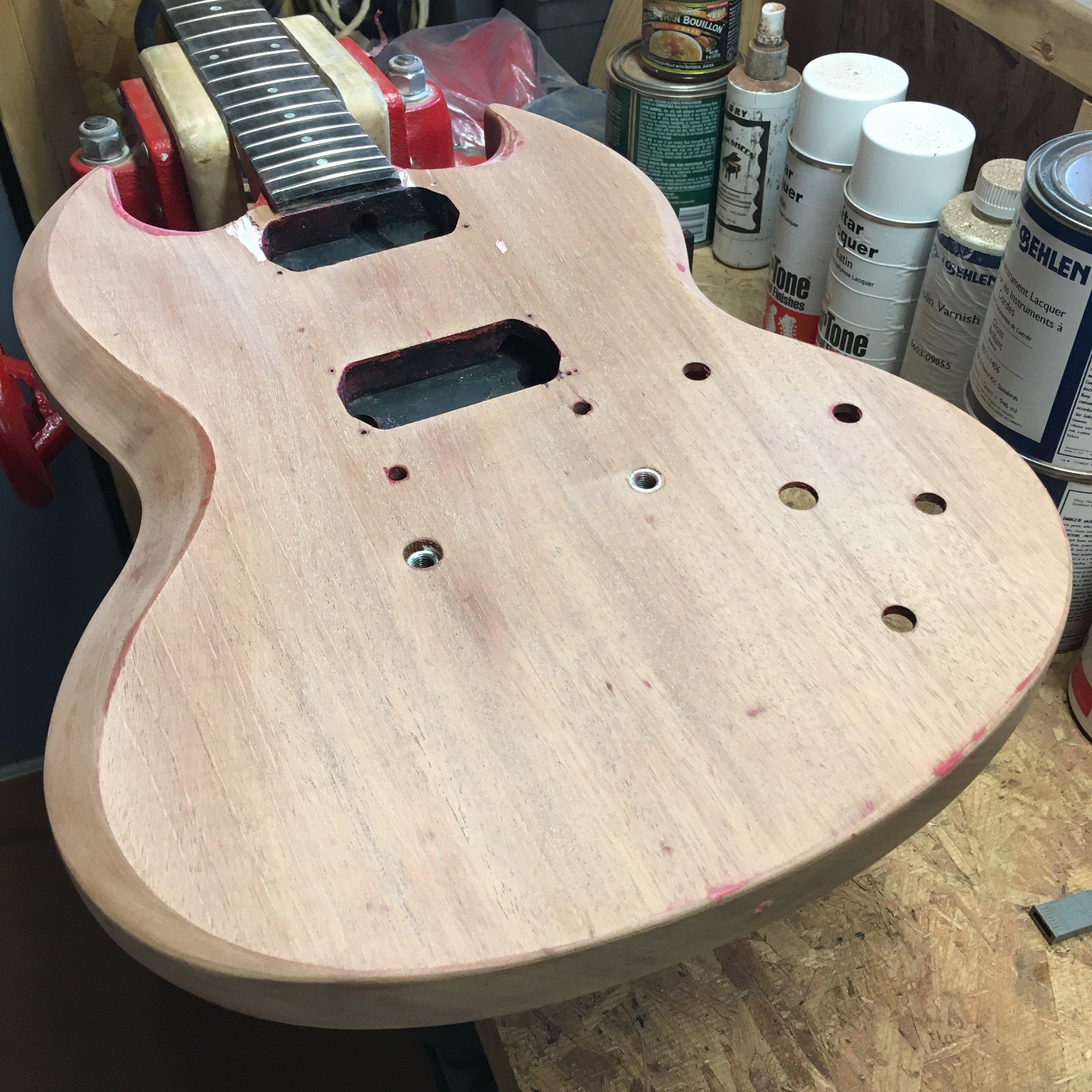 1987 Gibson SG Special Restoration