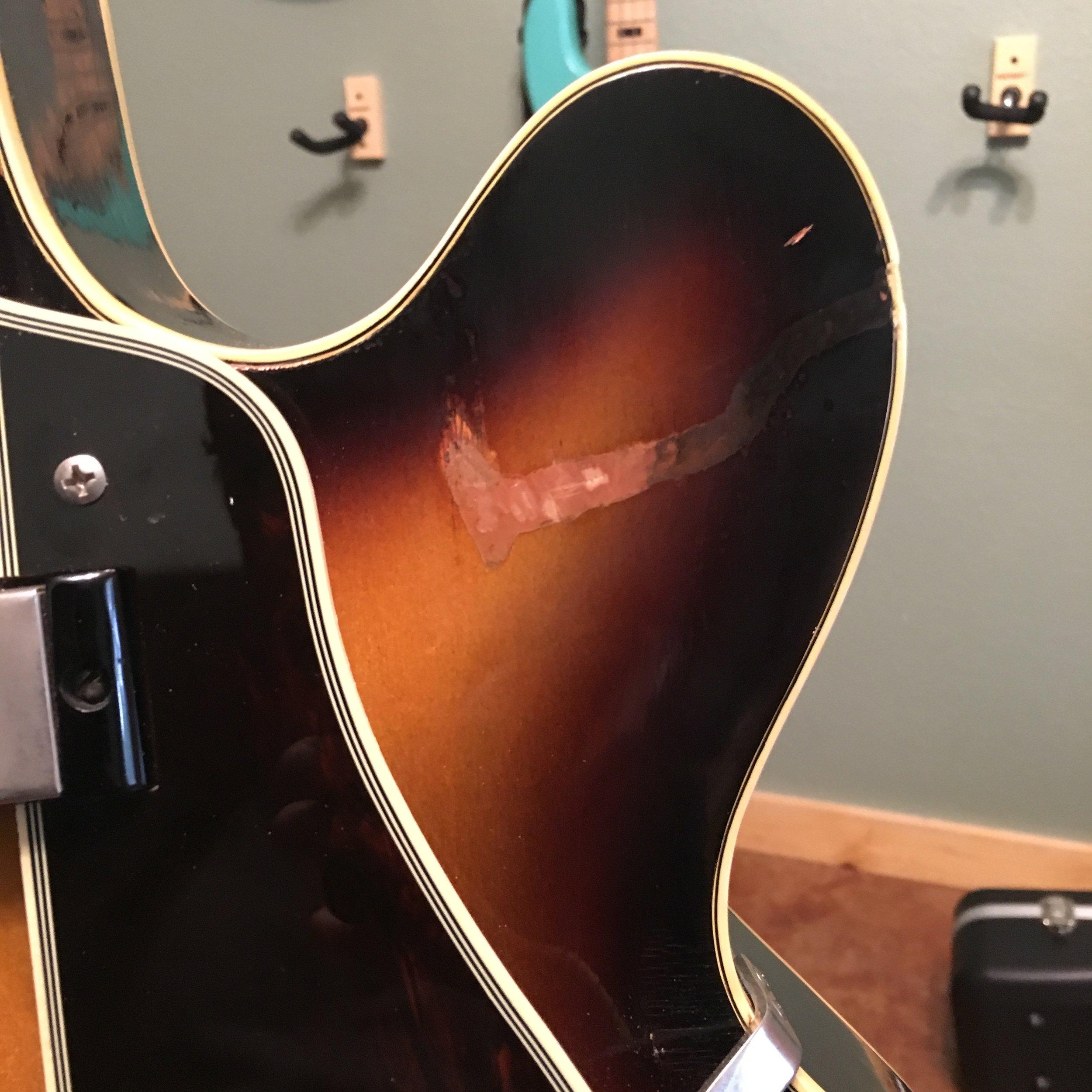 50's Epiphone Zephyr Regent Finish Repair
