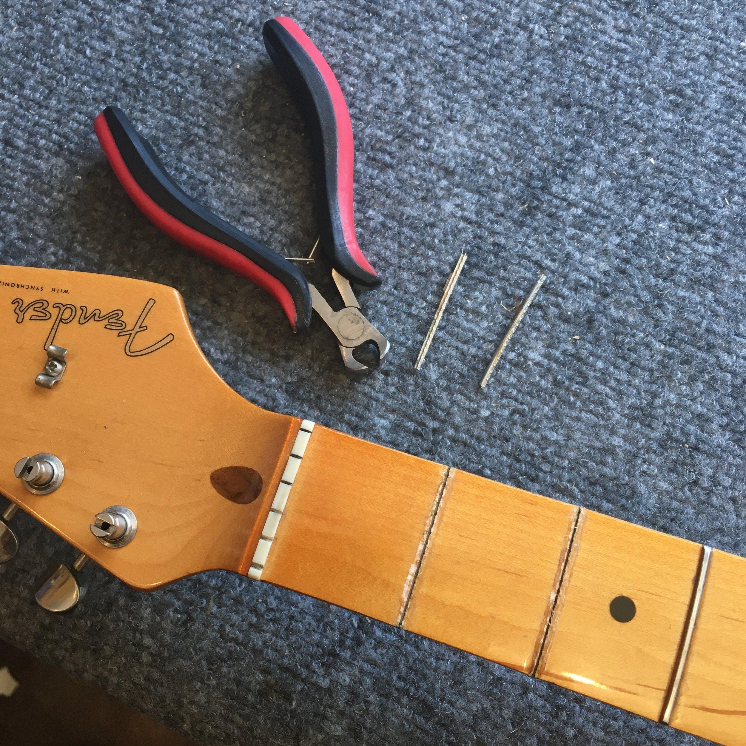 '93 Fender Stratocaster Refret