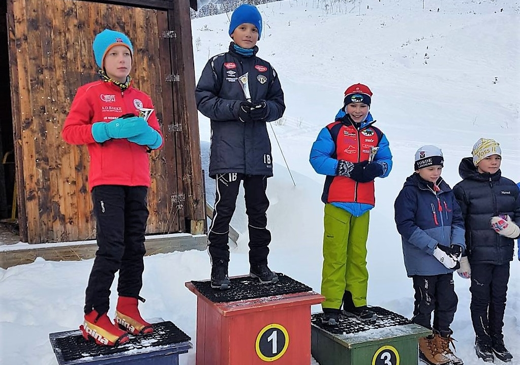 Isak Bøthun tok sin første seier i SSF Cup. Det kommer nok flere.