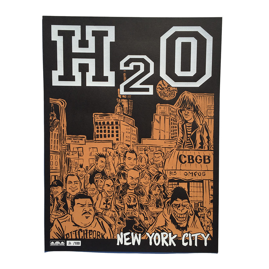 "18""x24"" Screen Printed Poster / 100"