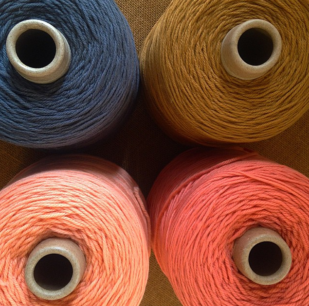 Throw blanket merino wool from Maine for our collection.