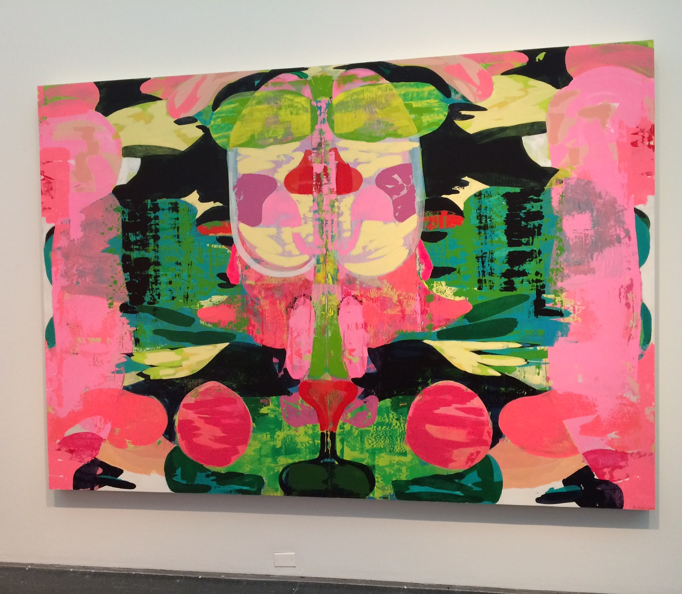 The Kerry James Marshall exhibition at The MCA Chicago.
