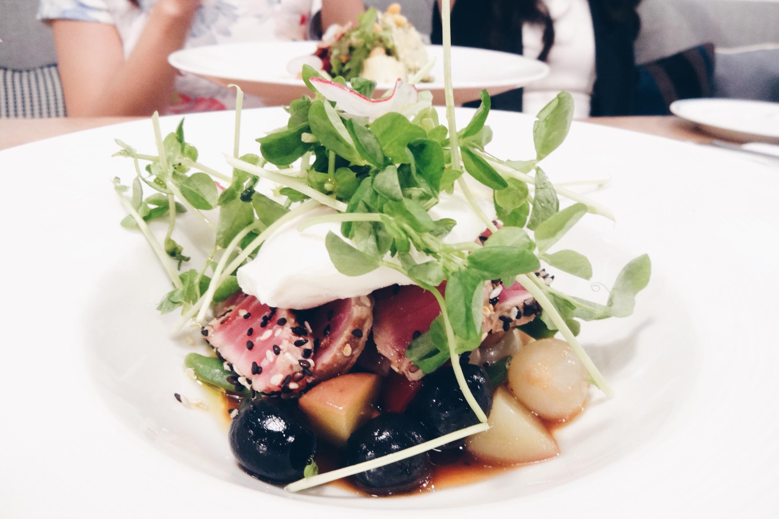 Tuna Tataki Nicoise Salad – SGD$15.90