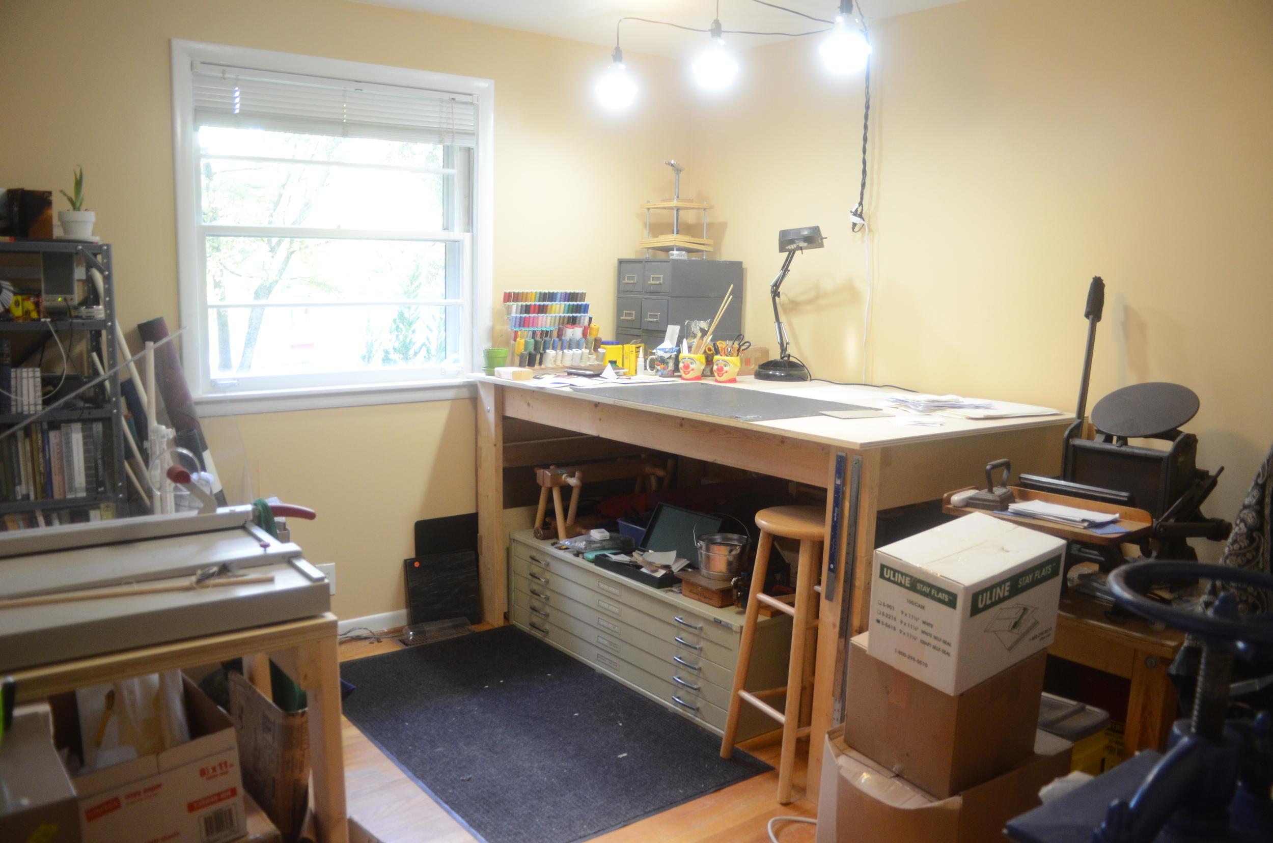 My humble workspace.