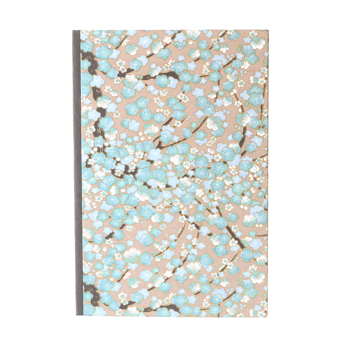 Blue Cherry Blossom Journal