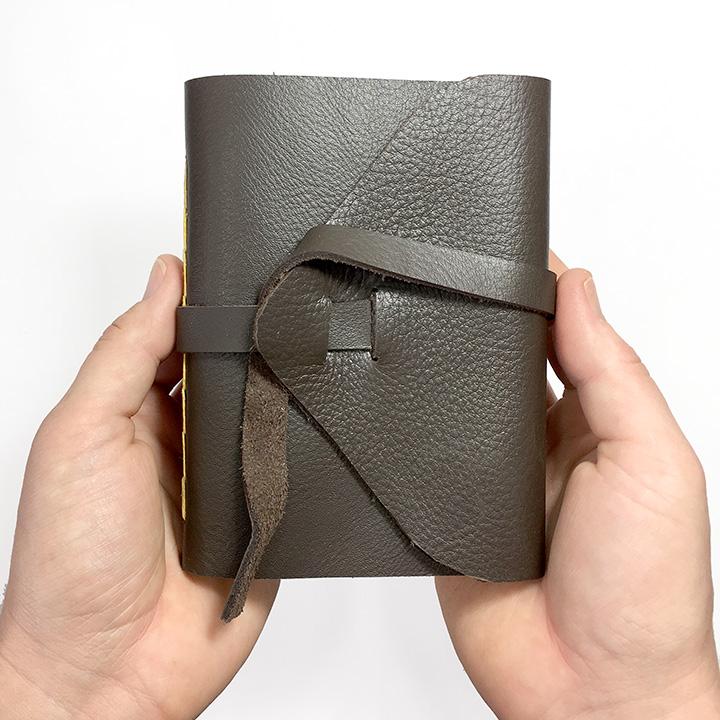 Leather Wrap Journal - Handmade Book