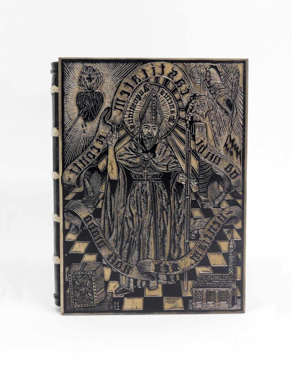 Saint Augustine of Hippo B Theologian Patron Saint Bishop Stationery Note Cards Image Taken From My OOAK Original Acrylic Catholic Art