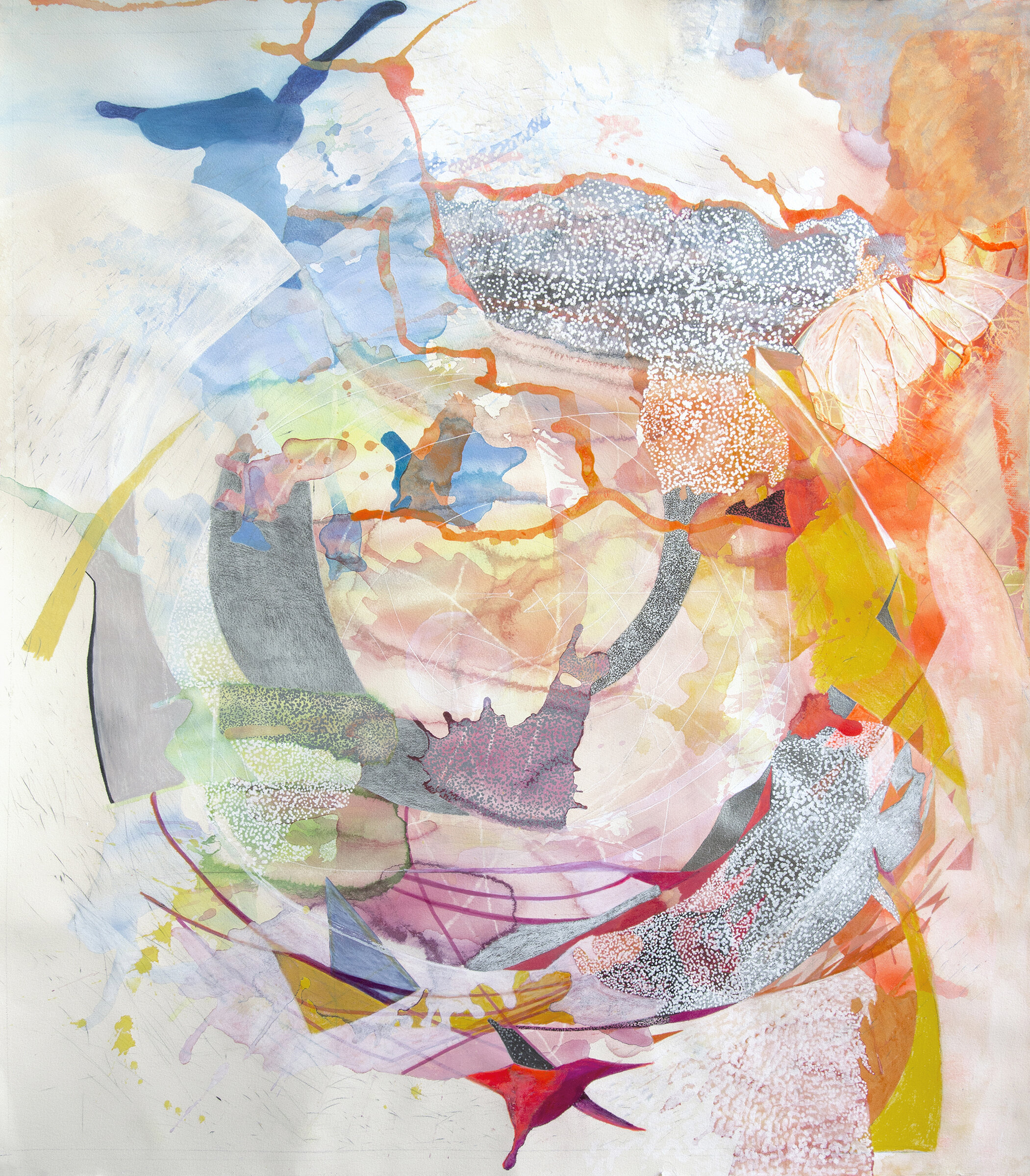 Atlas - Drawing with ink, acrylic paint, color pencil and graphite on Arches paper, 43H x 38W, 2012-2015.jpg