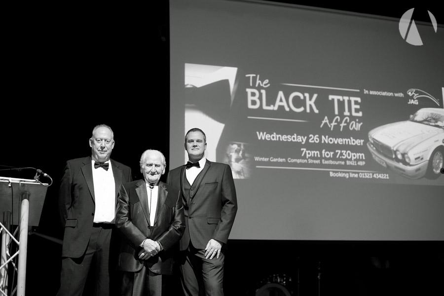 Norman Dewis - jagtechnic  Black Tie Affair 2014