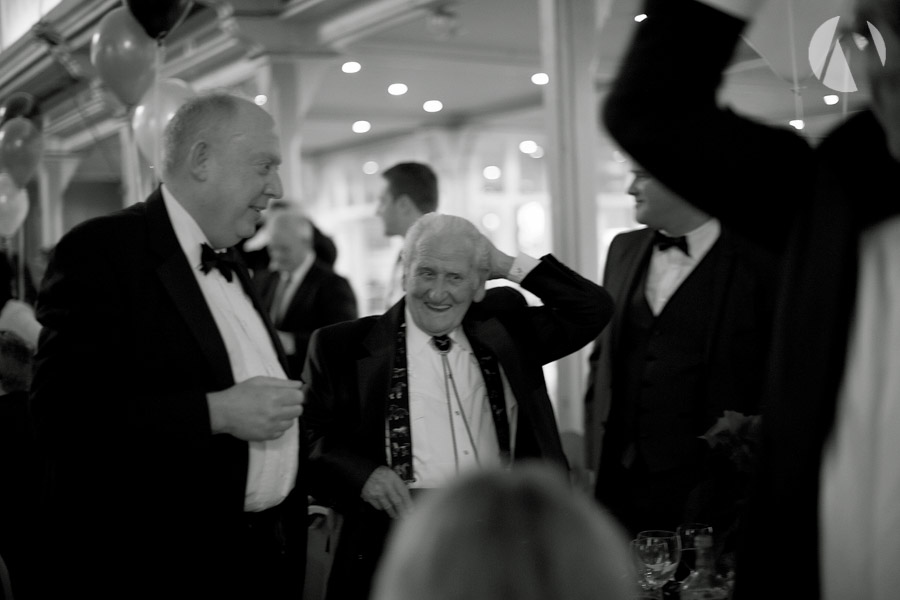 Tony O'Keefe, Norman Dewis OBE, Paul Chipp-Smith Jagtechnic Black Tie Affair