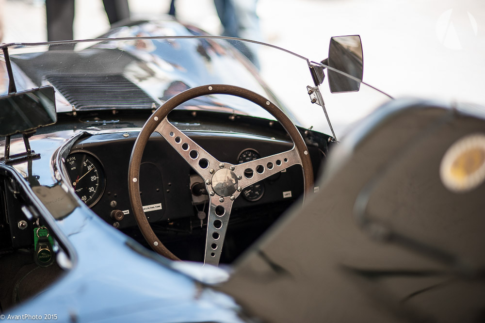 Cock pit 1956 Jaguar D-Type Long Nose