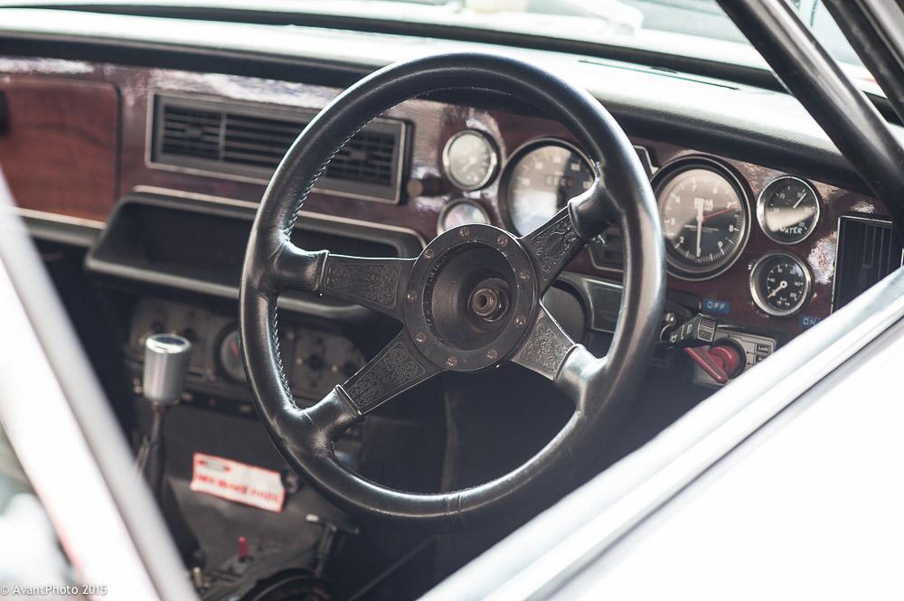 Jaguar XJ12C cockpit