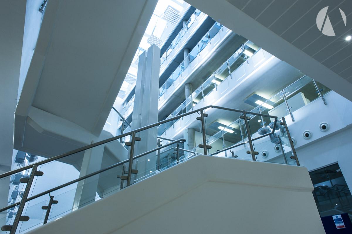 Stairway to public areas Smithfield - Stoke-on-Trent