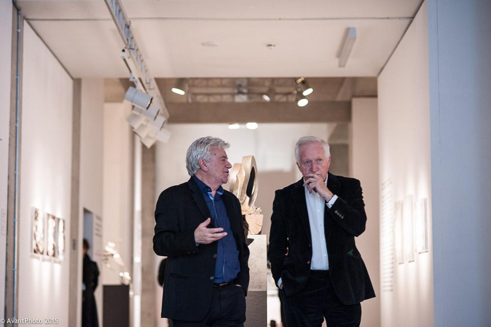 David Dimbleby & John Napier - Towner Eastbourne