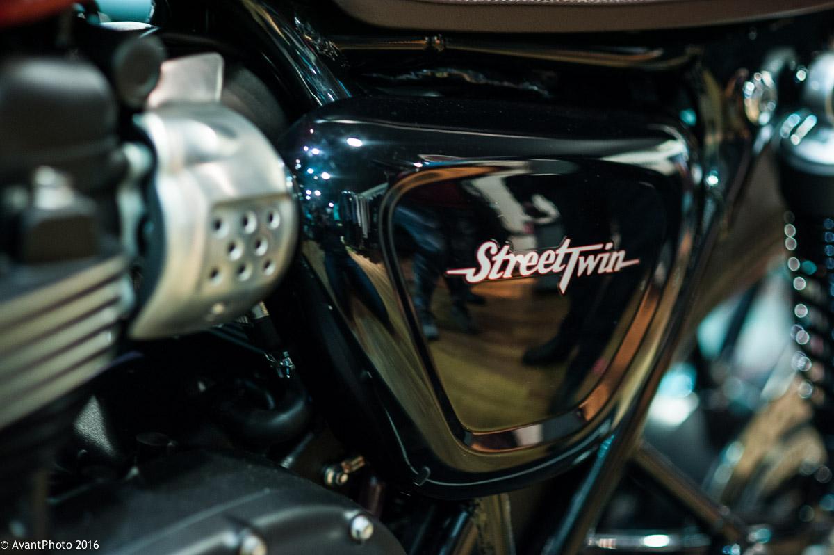 Triumph Street Twin - detail