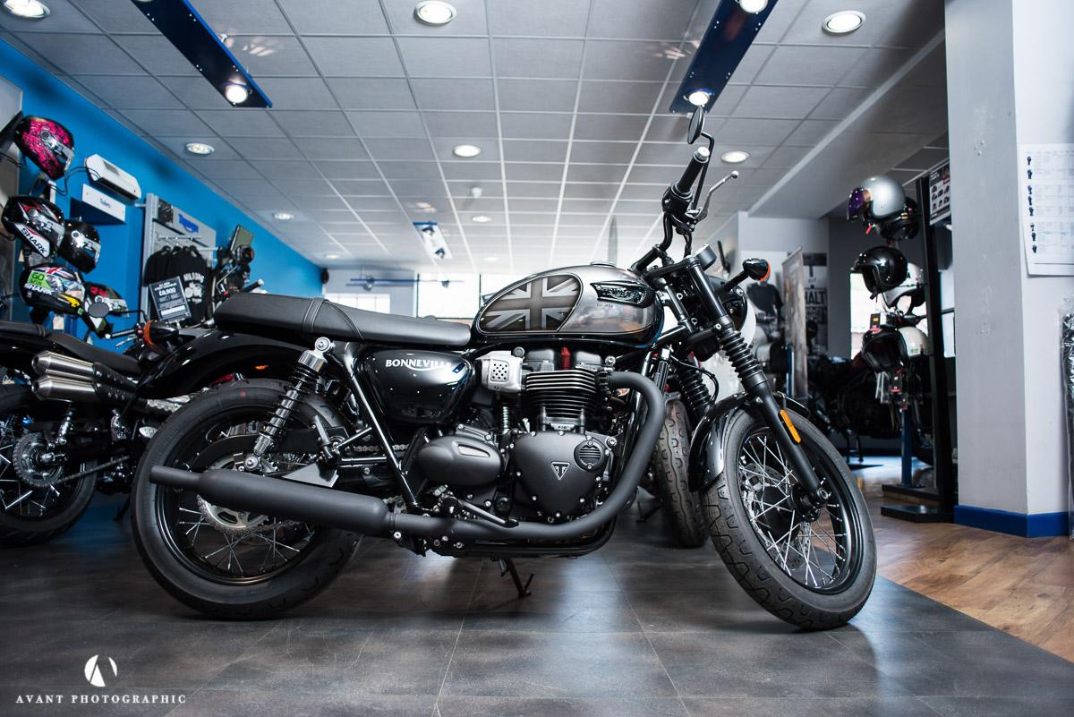 Custom Triumph Motorcycles — Avant Commercial