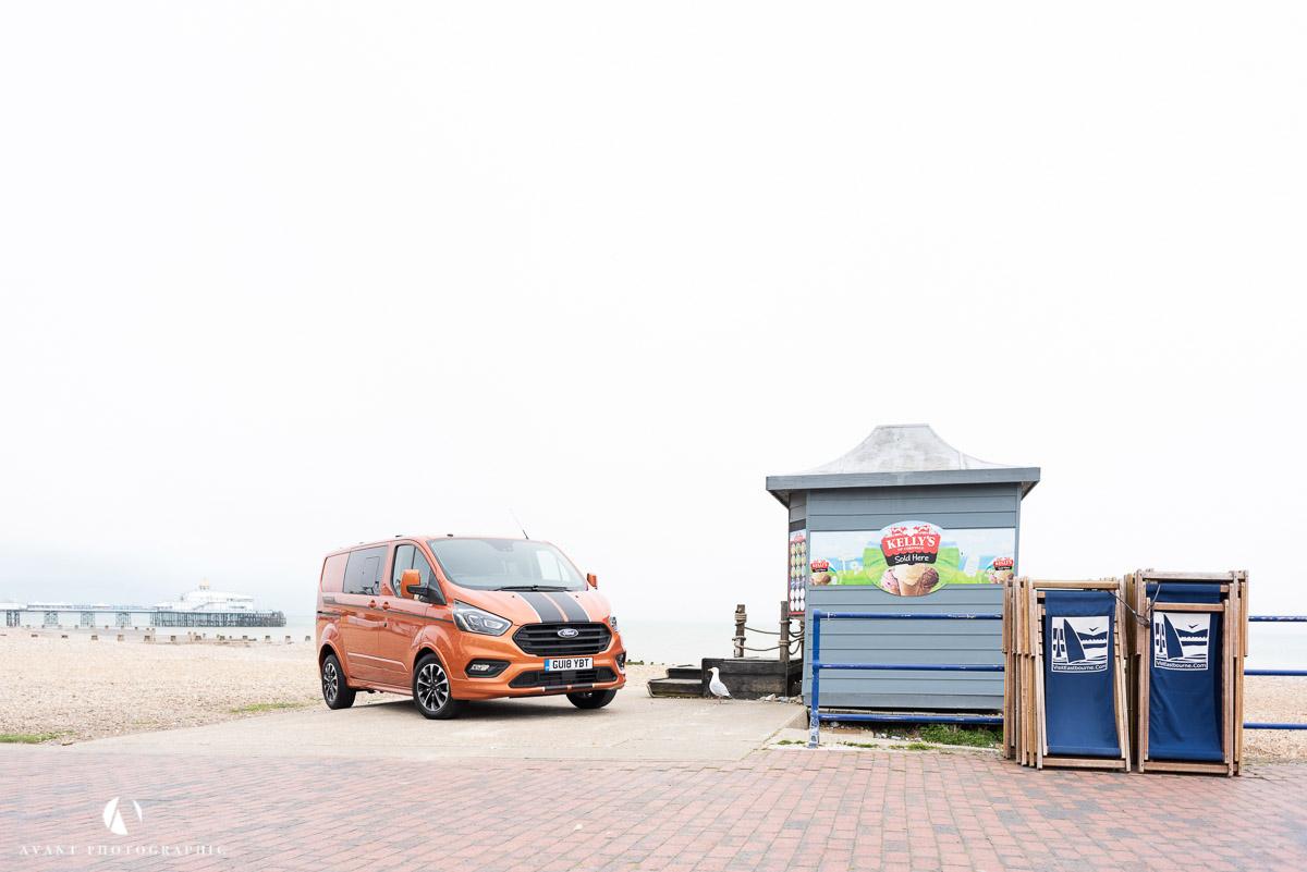 Ford Transit Custom - Eastbourne Seafront