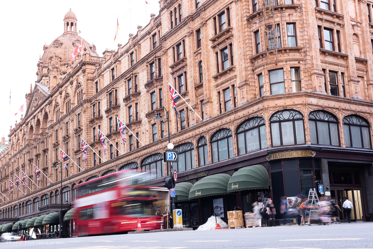 Harrods London Bus