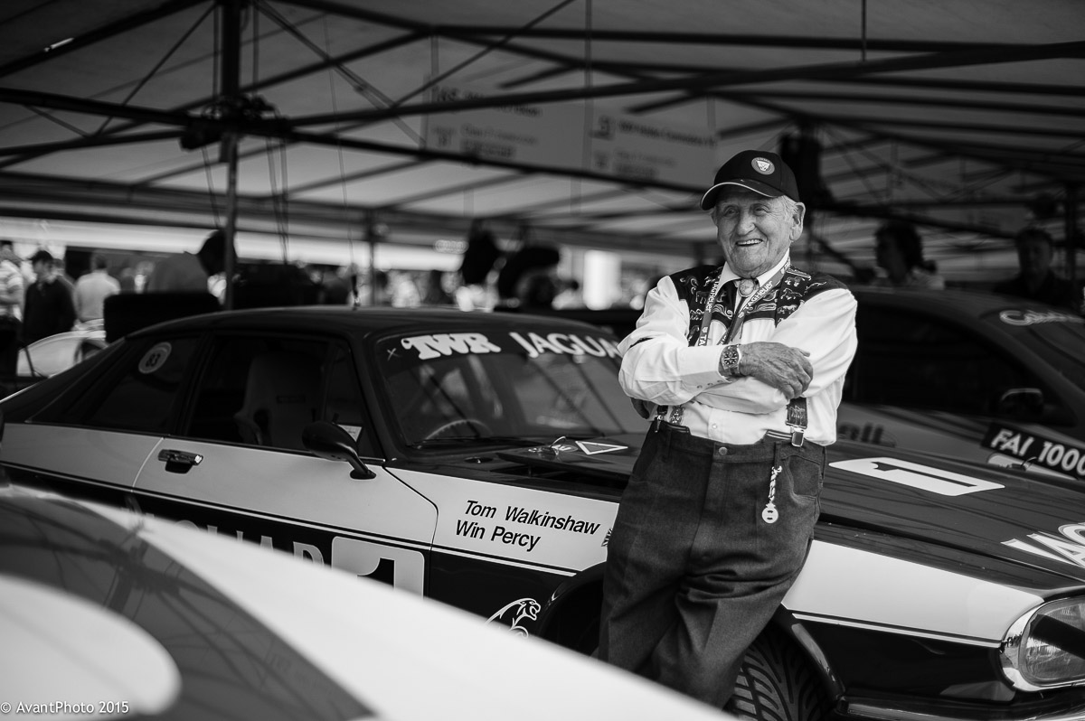 Norman Dewis OBE - Goodwood, Jaguar Heritage