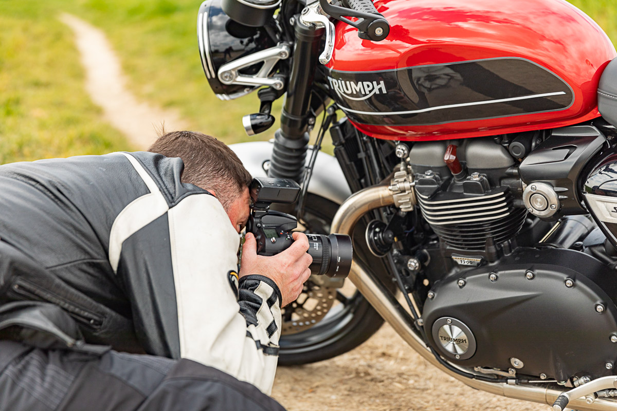 Triumph Speed Twin Detail shooting - By Toni Manuel
