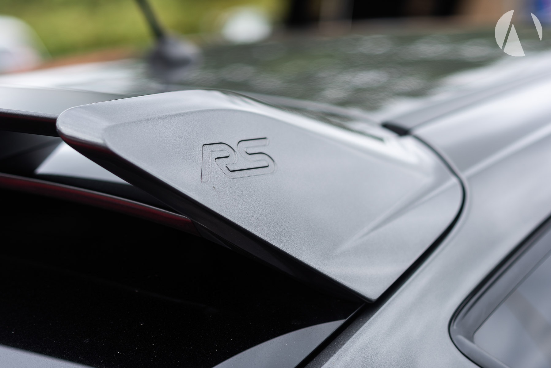 Ford Focus RS Wing detail