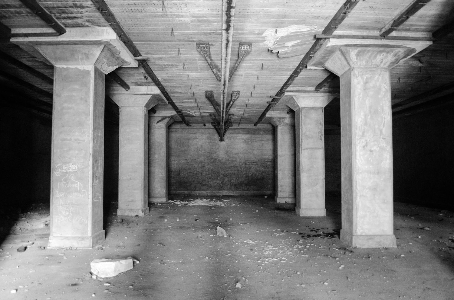 Inside the colossal ammunition depot built to withstand heavy bombing