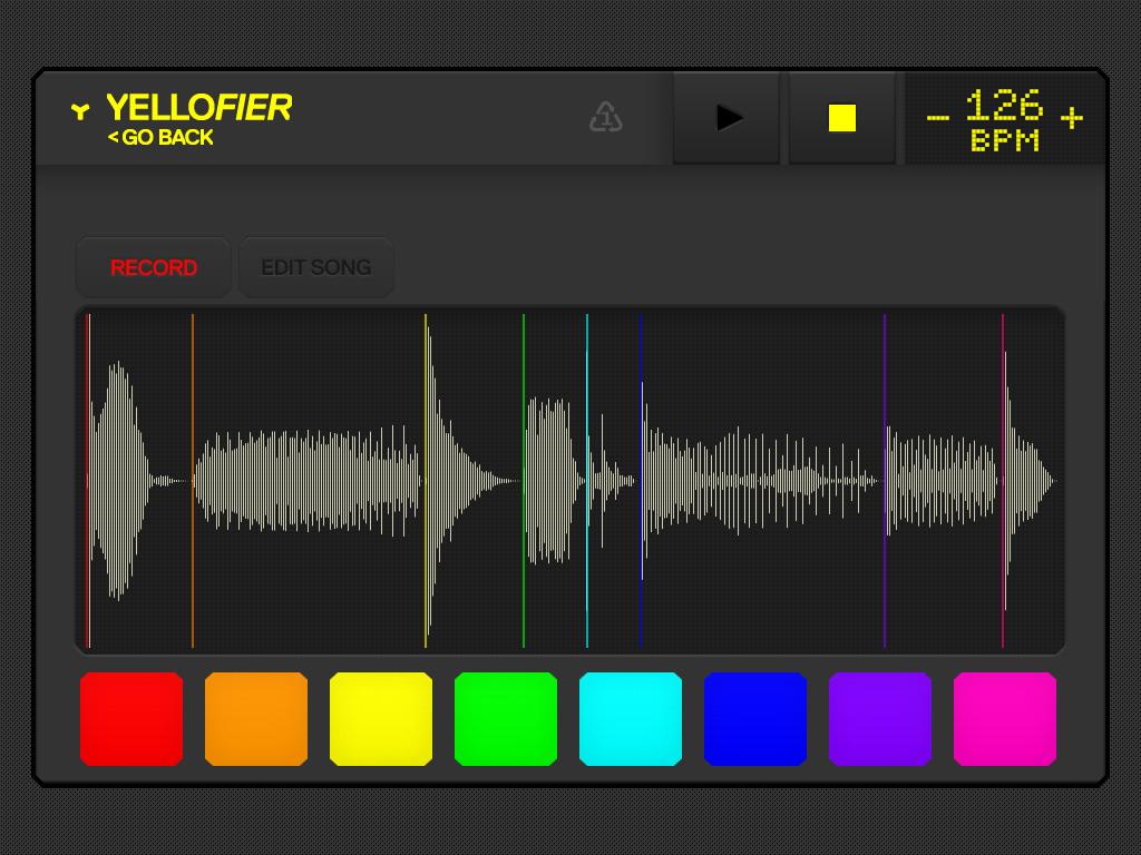 Yellofier_iPad_record_screen