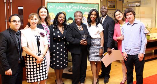 LAMB staff at DCACPS Awards.
