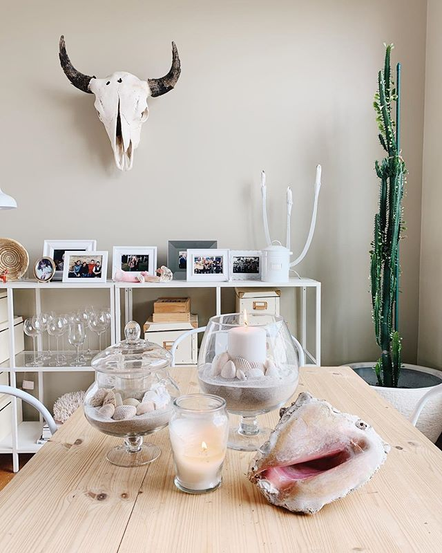 A peaceful little Saturday afternoon at home led to all my favorite shells finding the perfect home. 🐚💕 #nashville #shells #nashvilletn #theviewfromhere #athome #homedecor #swedishstyle