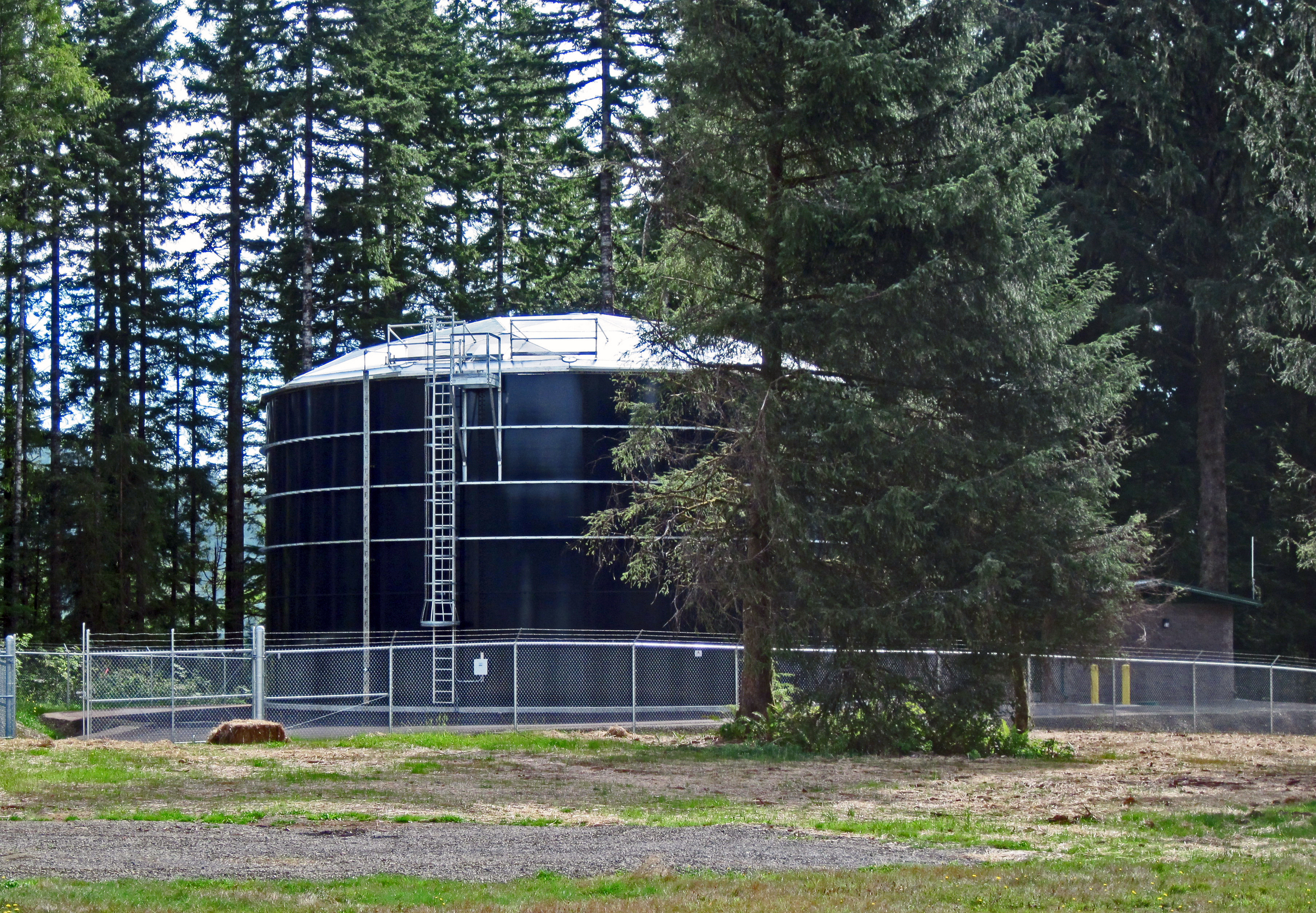 Confederated Tribes of Siletz Indians 0.5 MG Tank | Siletz, Oregon