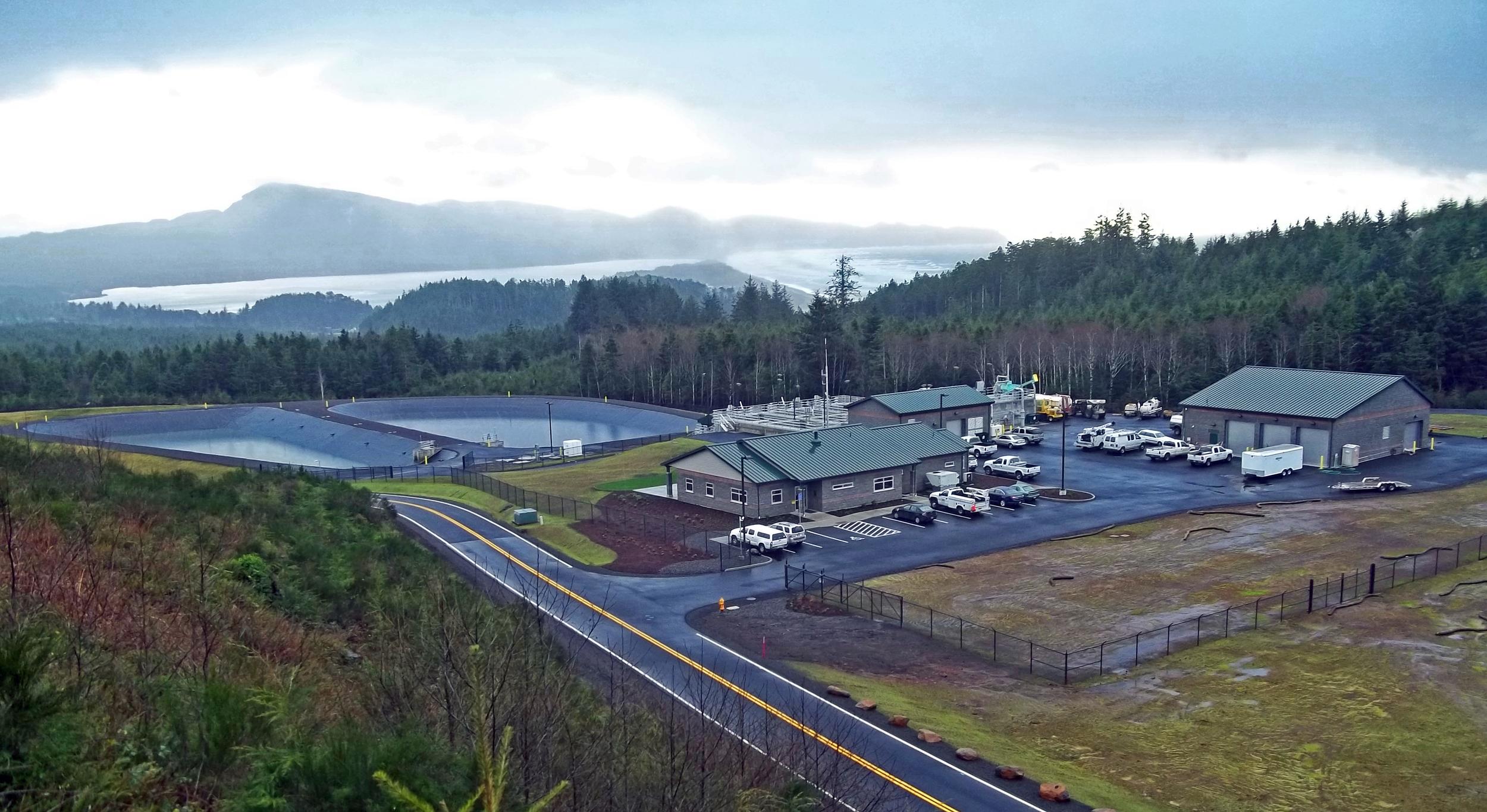 Netarts-Oceanside Sanitary DistrictNew Wastewater Treatment Plant| Oceanside, Oregon